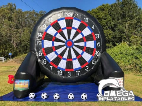 Single-Sided Football / Soccer Dart Board with Velcro Balls