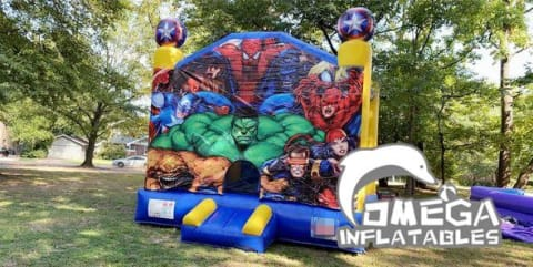 Super Heroes Bounce House