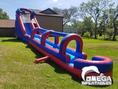 18FT Dolphin Inflatable Water Slide