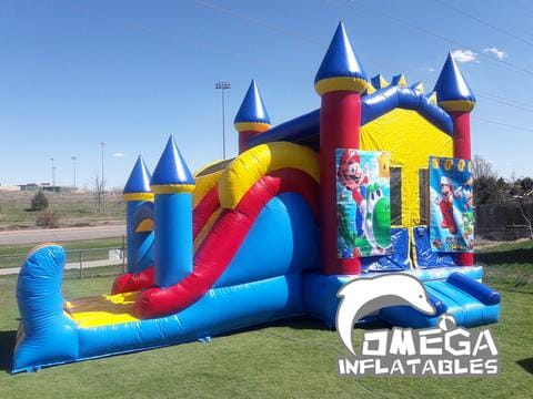 Boys Castle Inflatable Combo