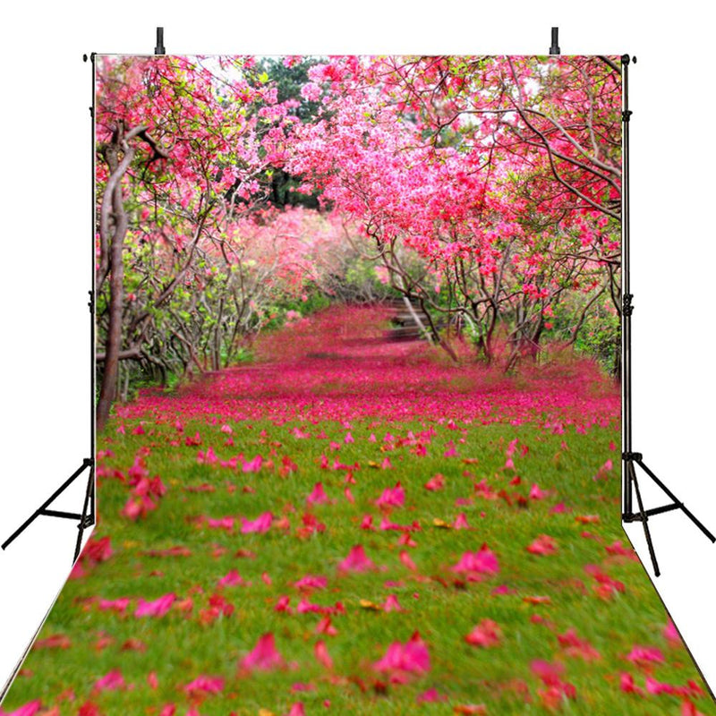 April spring backdrop Easter photo background for photography studio flowers trees photo background vinyl