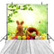 April backdrop Easter eggs photo background for photography spring glass kids photo background vinyl