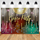 Ayco Party Photo Background Neon Adults Scene Setters Party Decoration Birthday Event Banner Portrait Backdrop Shiny