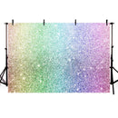 Birthday Party Backdrops For Photography Rainbow Sparkles Shiny Decor Boy Girl Backgrounds For Photo Studio Photophone