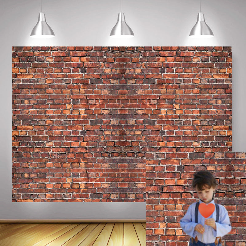 Brick Wall Photography Backdrop for Photo Shoot Baby Birthday Party Selfie Background Newborn Children Portrait Photocall Props