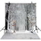 outside snow backdrop -snow white backdrop- forest backdrop -trees photo backdrop snow landscape- photo booth props christmas -photo booth props winter scenery -photography backdrops 8x12 snow -photography backdrops winter snow