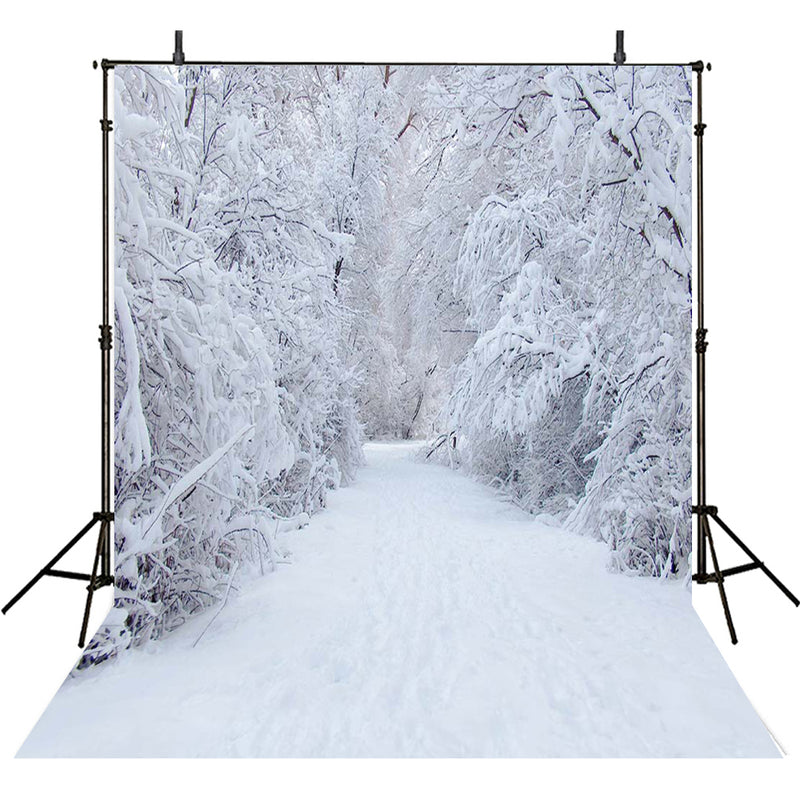 photography backdrops white snow -Snow backdrop - Snow forest backdrop -Snow Wedding photo backdrop- snow landscape background - photo booth props christmas -photo booth props winter scenery -photography backdrops 5x7 snow -photography backdrops winter snow