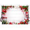 Christmas White Wooden Wall Backdrop Xmas Holiday Gift Wood Christmas Backdrops New Year Party Decorations Photo Background