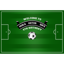 Customize Soccer Background Photography Birthday Celebration Communion Photocall Newborn Photo Football Backdrops Studio Props
