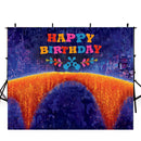 Customize Name Photography Backdrops Coco Family City View Miguel Remember Me Music Dream Happy Birthday Photo Backdrop For Photo Studio