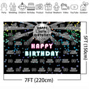 Disco 30th Birthday Theme Party Backdrop Back to 80s 90s Theme Parties Photography Background Light Decoration Supplies Birthday