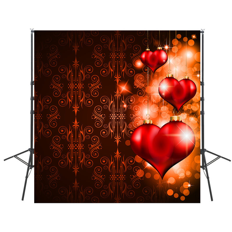 Photography Backdrops Red Vinyl Photography For Backdrop Valentine's Day Digital Printed Photo Backgrounds For Photo Studio