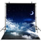 Night Sky Photography Backdrops Stars Moon Vinyl Photography for Backdrop for Baby Digital Printed Photo Backgrounds for Photo Studio