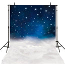 Clouds Photography Backdrops Twinkle Little Stars Moon Vinyl Photography for Backdrop for Baby Digital Printed Photo Backgrounds for Photo Studio