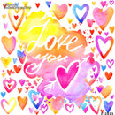 vinyl backdrops for photography Graffiti background colorful 6x6ft backdrops for photography love heart backdrops adults backdrops for photographers valentines day backdrops party background