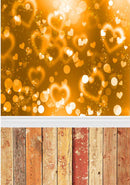 vinyl backdrops for photography 8x12ft valentines day background yellow love backdrops for photography backdrop twinkle backdrops for photographers valentines day wood floor backdrops bokeh background