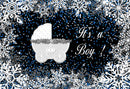 10x8ft winter wonderland photo backdrop winter onederland photography backdrop snowflake photo booth props for boys christmas winter snowflake photo background for picture