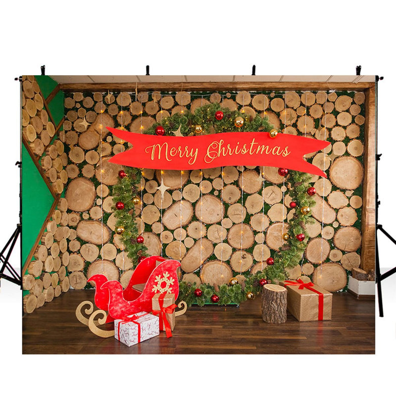 merry christmas photo backdrop christmas trees 5ft photography background interior large photo booth props Merry Xmas backdrops gifts for kids