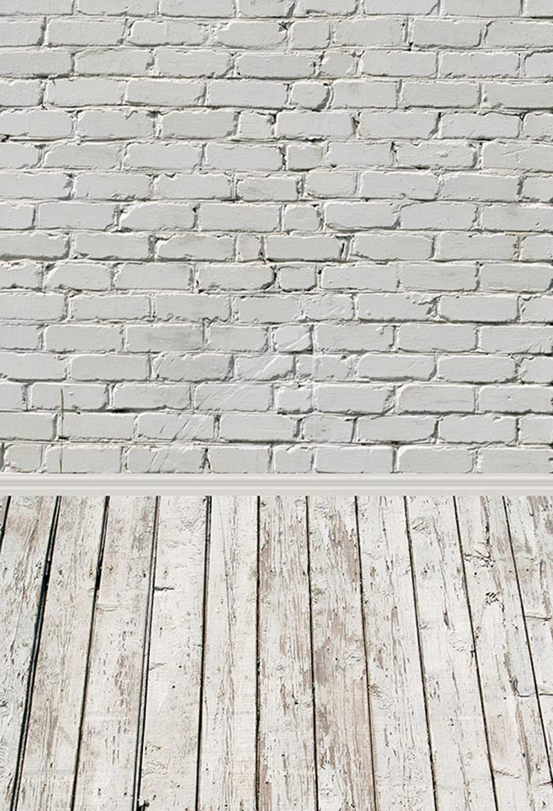 photo backdrop tan or white photography backdrop brick wall background for picture wooden look photo booth props wooden floor