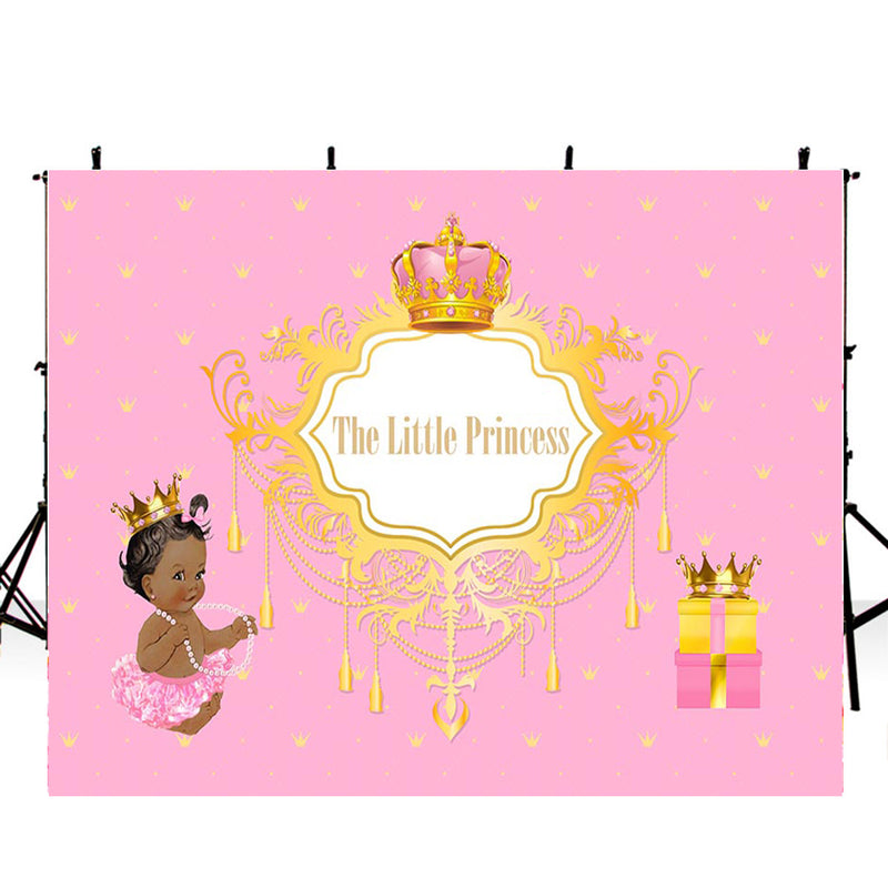 8x6ft Happy birthday photo backdrops birthday banner photo booth props little princess background pink backdrops newborn birthday photo backdrop baby shower background for photo happy birthday