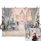 Photography Backdrops Christmas Background Backdrops Snow Forest Bokeh Winter Props Xmas Vinyl photo Backdrop Interior Decor
