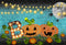 black light photo backdrop halloween 8x6 Sparkle photo backdrop for halloween meiguisha Pumpkin Lantern photography background for child backgound for picture moon