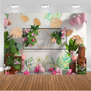 Kids Birthday Photography Background Home Decor 3D Backdrop Balloons Party Banner Decor Backdrop Photo Studio