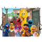 Hot Kids Photography Backdrops Sesame Street Backdrop For Photography Children Television Background For Photo Studio