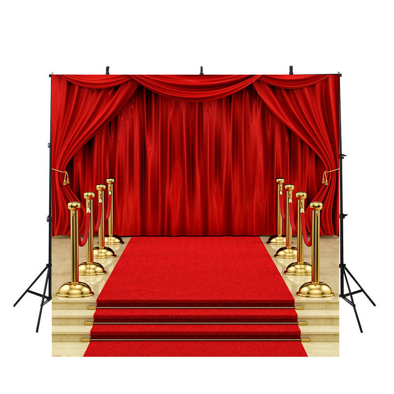 10x15ft Background Gold and Dark Carpet Photography Backdrop Wedding and Hot Event Photo Studio Props LHFU291