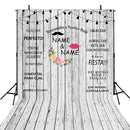 mrs and mrs wedding photo booth props wooden floor backdrop for picture customized weeding theme photography backdrops bridal shower 50th wedding anniversary photo backdrops wedding theme 12ft personalized background for photographer