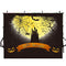 halloween graveyard photo booth backdrop ghost black backdrop for picture night moon photography background tombstone bats photo props scary