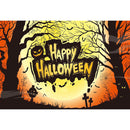 10ft halloween party photo booth backdrop banner backdrop for picture Pumpkin Lantern photography background ghost photo props for kids