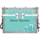 Sweet 16th Birthday Photography Backdrops Thin Vinyl Photography For Backdrop Happy Birthday Digital Printed Photo Backgrounds For Photo Studio