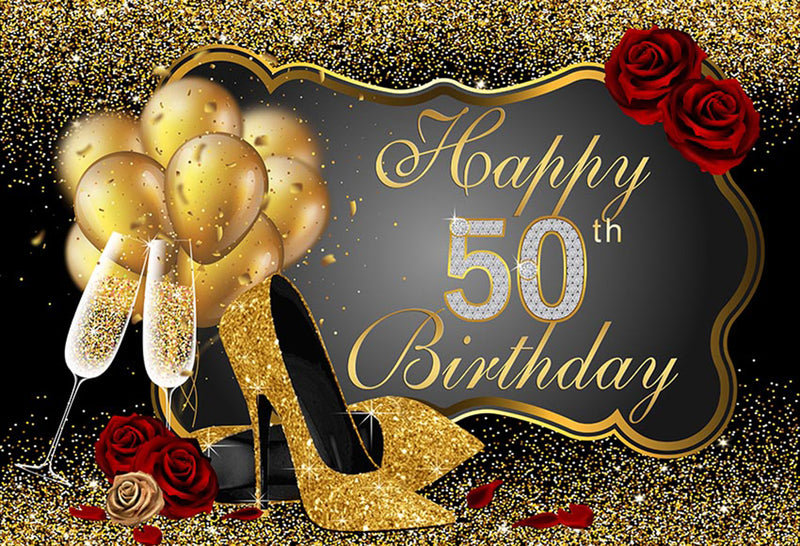 happy birthday backdrop birthday backdrop decor birthday backdrop with flowers birthday backdrop custom 50th birthday backdrops for photography queens black golden backdrop