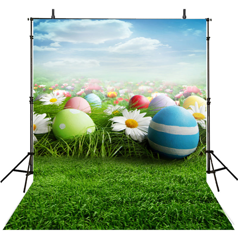 happy easter photo backdrops flower spring photography vinyl backdrops easter eggs for baby shower easter themed photo background easter grass photo booth props easter religious photo booth backdrop