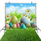 happy easter photo backdrops wood floor photography vinyl backdrops easter eggs for kids easter themed photo background basket easter grass photo booth props easter religious photo booth backdrop