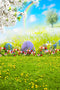 happy easter photo backdrops 10x8 spring photography vinyl backdrops easter eggs for girls easter themed photo background easter religious photo booth backdrop easter church photo booth props