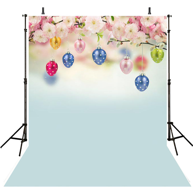 happy easter photo backdrops spring photography vinyl backdrops easter eggs for girls colorful eggs backdrops sky easter themed photo background 8x6 easter religious photo booth backdrop easter church photo booth props