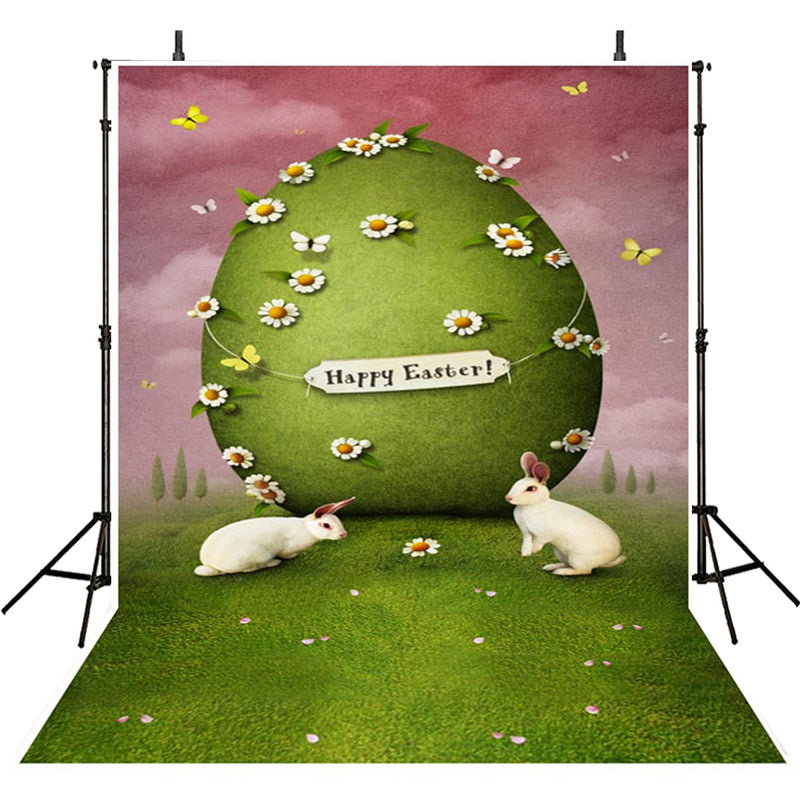 happy easter photo backdrops spring photography vinyl backdrops easter eggs for girls colorful eggs backdrops rabbit sky easter themed photo background easter religious photo booth backdrop easter church photo booth props
