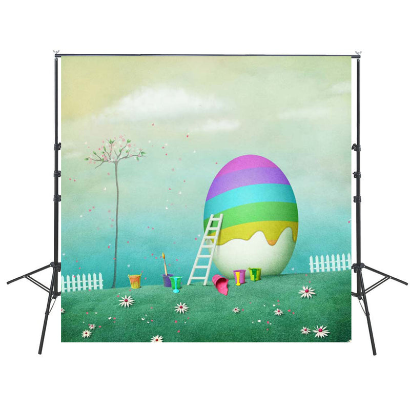 happy easter photo backdrops brown wood photography vinyl backdrops easter eggs for baby shower easter themed photo background 8x8
