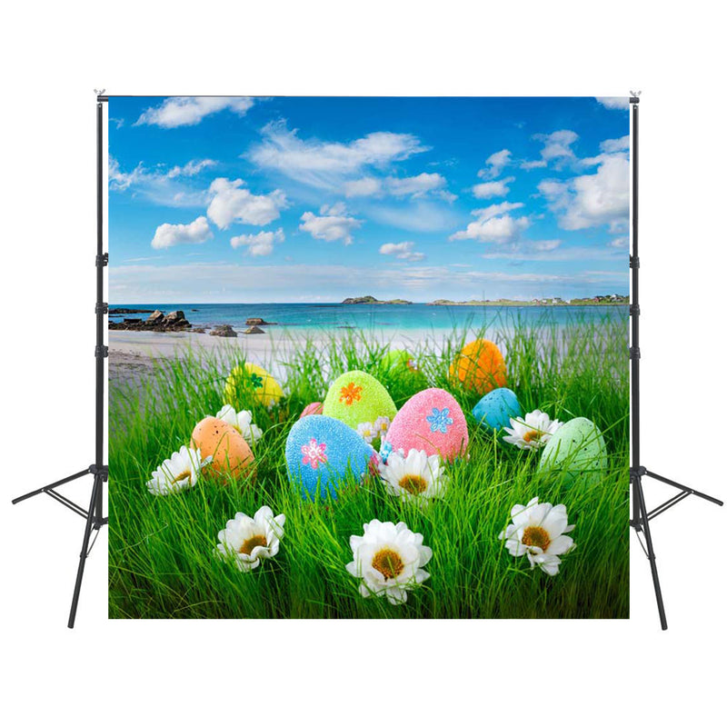 8x8ft christian easter backdrops for photography vinyl background easter island photo backdrops happy easter eggs backgrounds religious photography backdrops easter theme party photo props for kids photo backgrounds spring