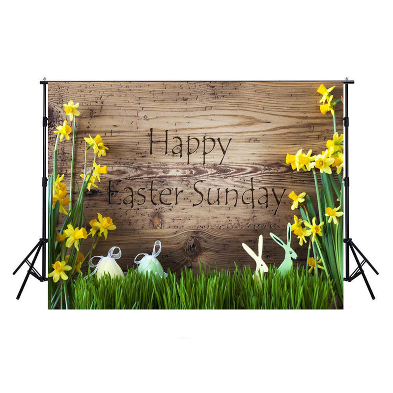 happy easter photo backdrops wood photography vinyl backdrops easter eggs for girls colorful eggs backdrops rabbit easter themed photo background easter religious photo booth backdrop easter church photo booth props