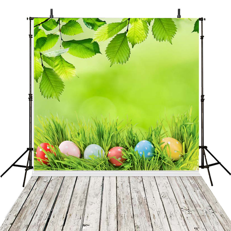8x6 happy easter photo backdrops brown wood photography vinyl backdrops easter eggs for baby shower easter themed photo background