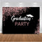 Graduation Party Backdrop for Photography Birthday Prom Background for Photo Booth Studio Glitter Congratulation Parties