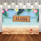 Hawaii Party Backdrop Luau Summer Theme Photography Background Tropical Leaf Beach Pink Flower ALOHA Birthday Party Backdrops