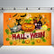 Halloween Party Photography Background Fall Pumpkin Children Backdrop Booth Photo Studio
