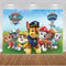 Hot Birthday Party Photography Backdrops Paw Patrol Birthday Backdrop For Photography Background For Photo Studio Fundo Fotografico