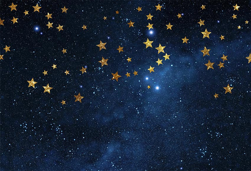 Twinkle Twinkle Little Star Photographic Background Navy Blue Stars Bl Dreamybackdrop