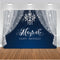 Magical Happy Birthday Backdrop for Photography Glitter Curtain Background for Photo Studio Newborn Baby Shower Cake Table Favor