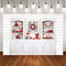 Merry Christmas Photography Background Christmas kitchen Wood Cupboard Child Cook Backdrop Decor Photo Studio Backdrop